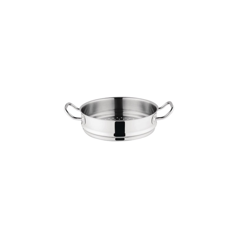 Étage vapeur Ø 240 mm, inox & aluminium, Triwall Vogue VOGUE Marmites