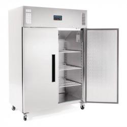 Armoire négative 1200 Litres PRO 2 portes inox POLAR Armoires négatives (-18°C-22°C)