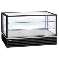 Vitrine réfrigérée ventilée, 3 x GN1/1 - Noir
