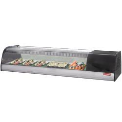 Vitrine réfrigérée à sushi, L 1380 mm