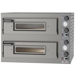 Four électrique 2 x 4 pizzas Ø 330 mm 9400 W