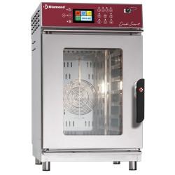Four 7 x GN 1/1 électrique à vapeur et convection - digital, auto-lavage