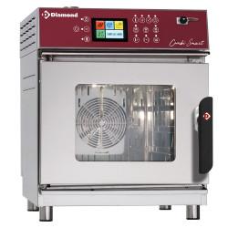 Four 4 x GN 2/3 électrique à vapeur et convection - digital, auto-lavage
