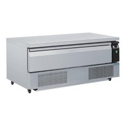 Soubassement double réfrigération 1 tiroir 3x GN 1/1  Accueil