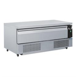 Soubassement double réfrigération 1 tiroir 3x GN 1/1 POLAR Tables et soubassements