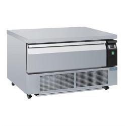 Soubassement double réfrigération 1 tiroir 2x GN 1/1 POLAR Tables et soubassements