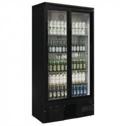 Arrière-bar 490L vertical - double porte coulissante POLAR Arrières-bar