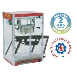 Machine à pop-corn professionnelle - THRIFTY POP 8 Sofraca Sofraca