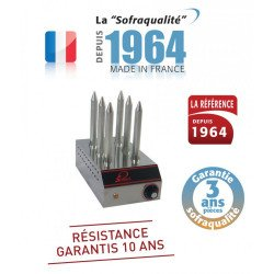 Chauffe pain 6 emplacements, 500 W (MONO) Sofraca Grilles-pains