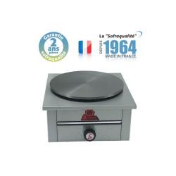 Crêpière gaz - 1 plaque - Diamètre 400 mm Sofraca Sofraca
