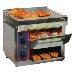 Toaster à convoyeur à quartz 2650 W (MONO), 8 quartz Sofraca Toasters