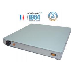 Plaque chauffante (L) 500 x (P) 500 mm, 600 W (MONO), en verre Sofraca Induction