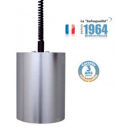 Lampe chauffante suspendue - Infra-rouge - Le tube - 75°C - 33002XSP Sofraca Sofraca