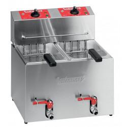 Friteuse électrique de table - 2 x 5 litres - Série TF - TF55 VALENTINE Nosem