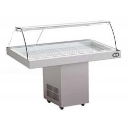 Vitrine réfrigérée à poissons, exposition (L) 816 x (P) 602 mm AFI Collin Lucy ALEX PRÊT