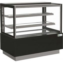 Vitrines réfrigérée pâtissière 680 Litres, 3 niveaux, vitre droite AFI Collin Lucy ALEX PRÊT