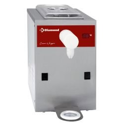 Machine réfrigérée à chantilly en inox, cuve 2 L (100 L/h) DIAMOND Siphons à chantilly
