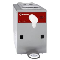 Machine réfrigérée à chantilly en inox, cuve 2 L (100 L/h)