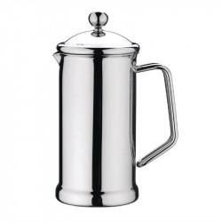 Cafetière à piston 0,4 Litres, 3 tasses, en inox poli, Olympia OLYMPIA Cafetières