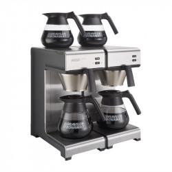 Machine à café à filtration rapide, 4 plaques chauffantes, Bravilor Mondo Twin
