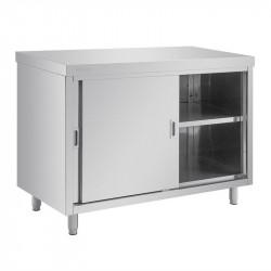 Table armoire, 900(H) x 1200(L) x 600(P)mm, inox  VOGUE gastro
