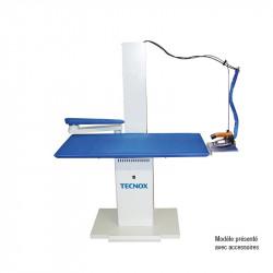 Table de repassage 5,8 Litres rectangulaire aspirante/chauffante, chaudière inox  Repassage