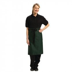 Tablier bistro 70x100cm (longueur) vert UNIFORM WORKS Tabliers