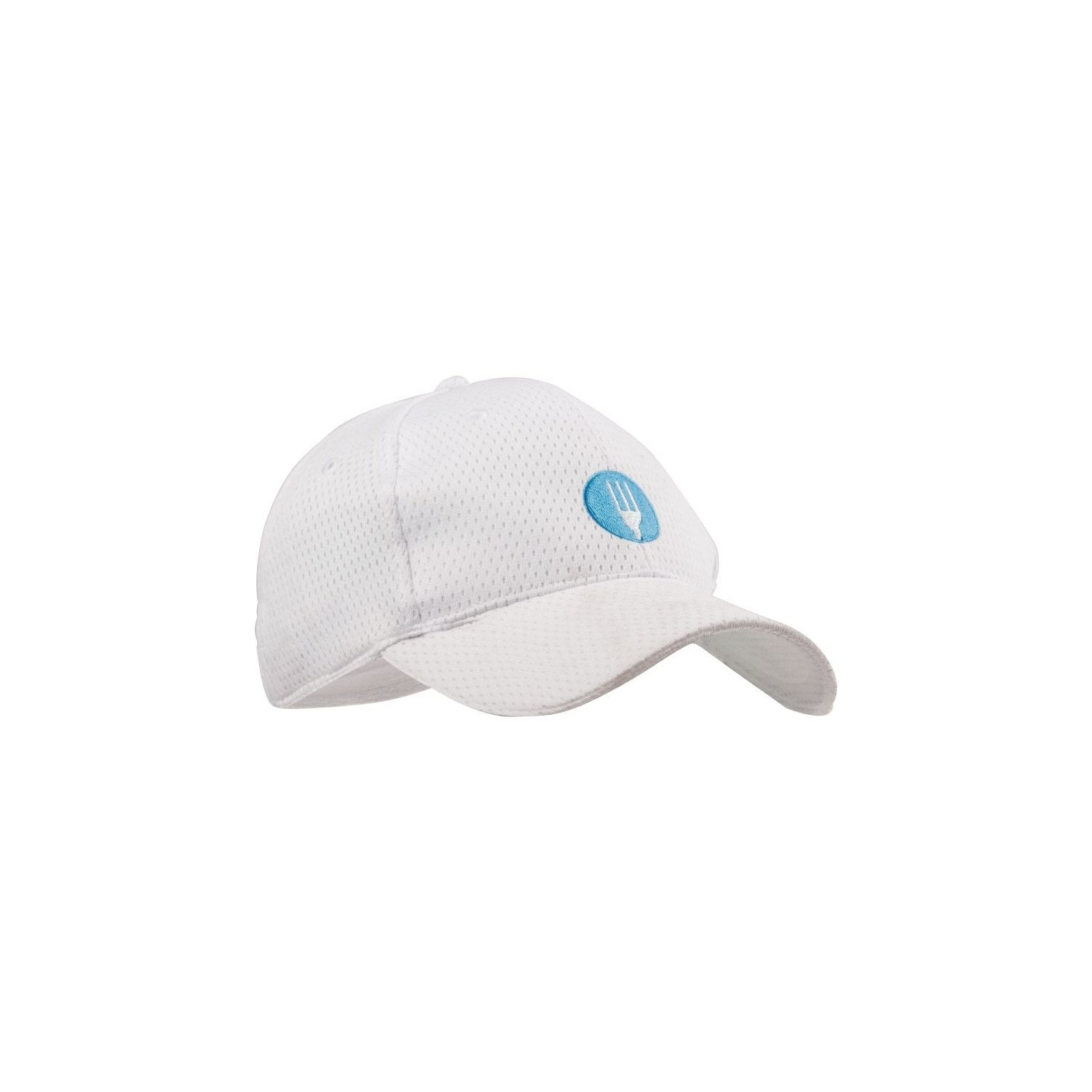 Casquette Cool Vent baseball Chef Works blanche CHEF WORKS Nisbets Vêtements