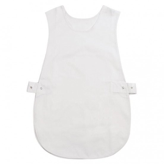 Tablier chasuble Blanc - Taille S WHITES CHEFS APPAREL Tabliers
