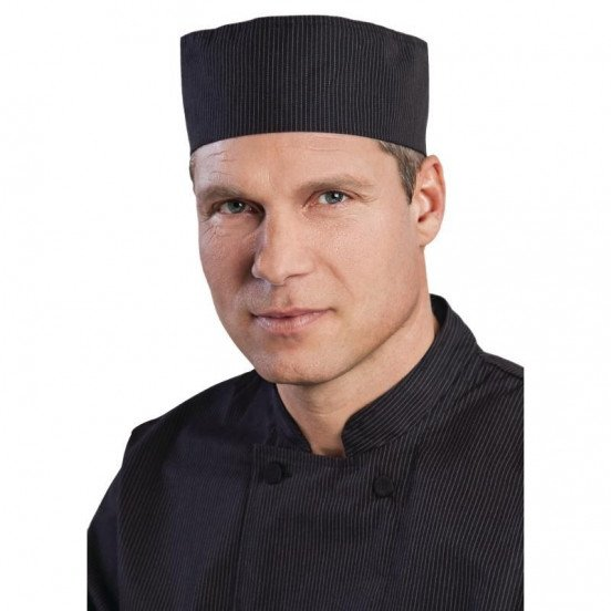 Calot à fines rayures Cool Vent Chefworks CHEF WORKS Calots