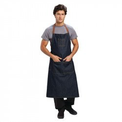 Tablier bavette indigo Memphis Chefworks CHEF WORKS Tabliers