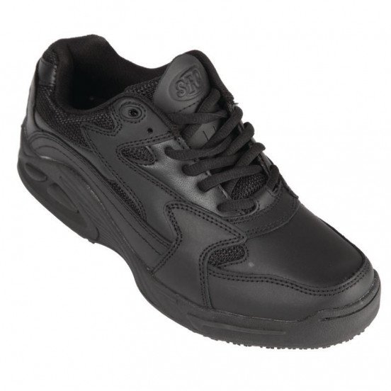 Shoes For Crews Ladies Stay Grounded Leather Trainer - Size 38 SHOES FOR CREWS Nisbets Vêtements