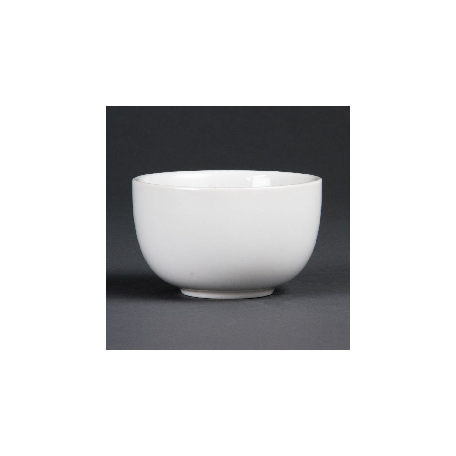 Lot de 12 sucriers 200 ml - porcelaine  OLYMPIA Collection Whiteware