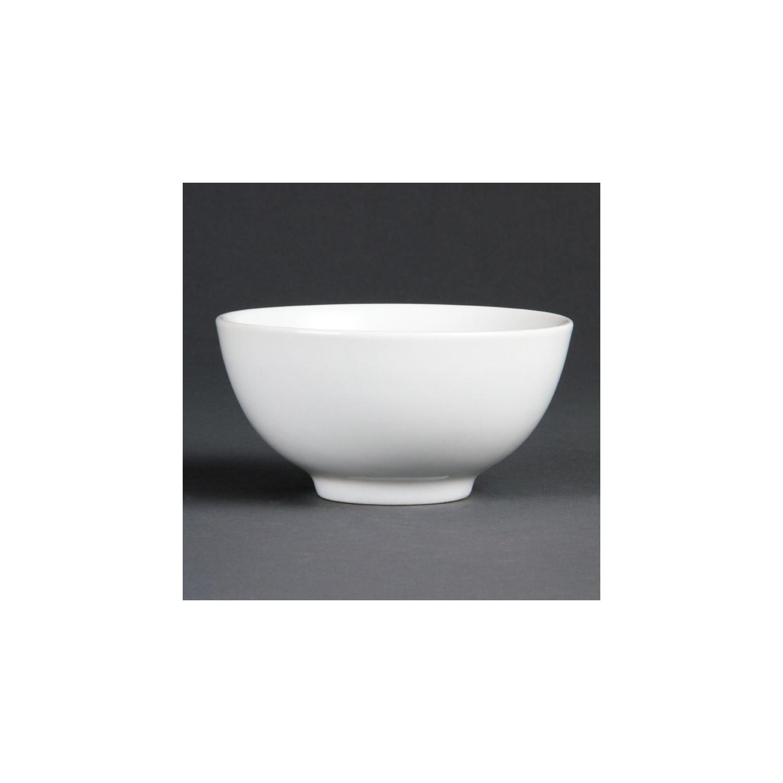 Bol à riz porcelaine blanche 13cm (12 pces) OLYMPIA Bols