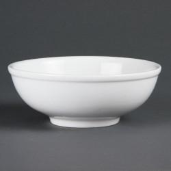 Bol à nouilles chinoise porcelaine blanche (6 pces) OLYMPIA Bols