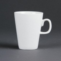"""Tasse """"Latte"""" sans soucoupe porcelaine blanche 340ml (12 pces) OLYMPIA Tasses"""