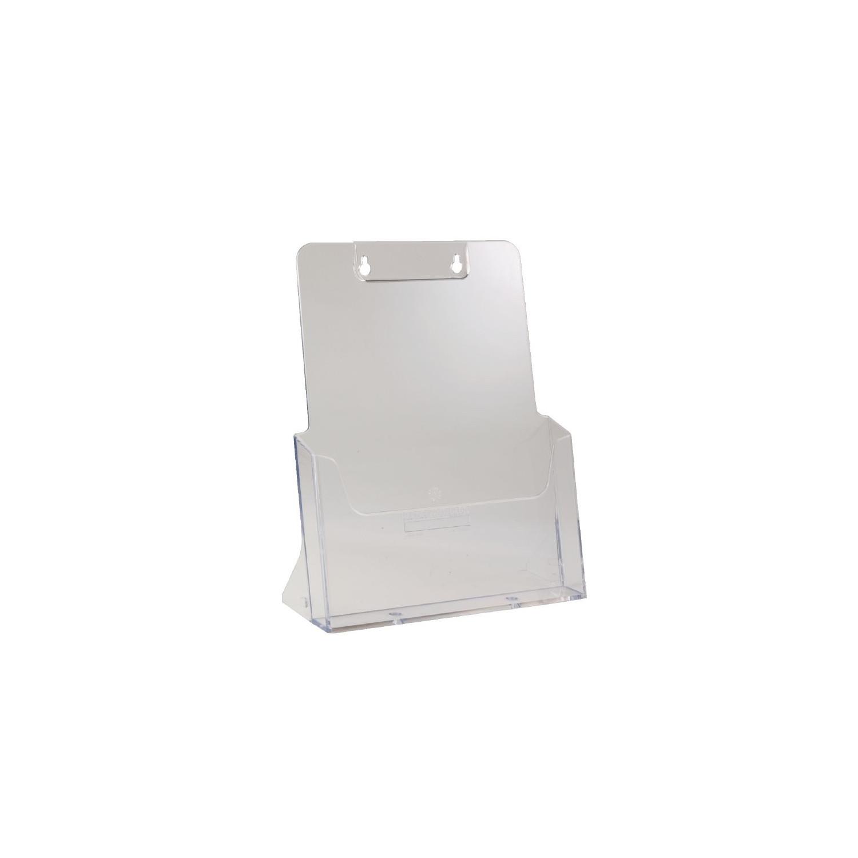 PrésentoirA4 double usage à un seul compart et une capacité35 au format portrait EQUIPEMENT DIRECT gastro