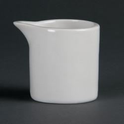 Lot de 6 pots à lait blancs 57 ml - porcelaine OLYMPIA Collection Whiteware