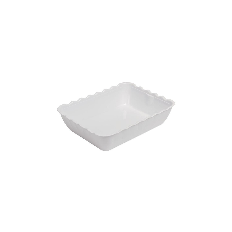 Kristallon grand saladier blanc 33,5x25,5x8,5cm KRISTALLON Saladiers