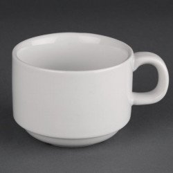 Lot de 24 tasses empilables 200ml Hotelware porcelaine ATHENA HOTELWARE Tasses