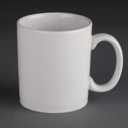 Lot de 12 tasses mugs 280ml Hotelware porcelaine ATHENA HOTELWARE Mugs