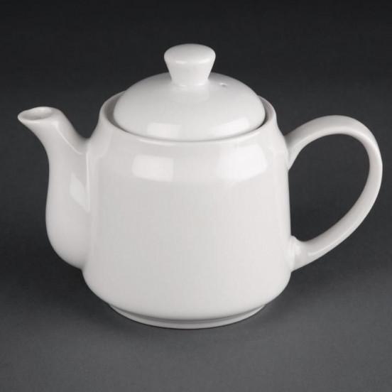Lot de 4 théières/cafetières 430 ml - porcelaine - Hotelware ATHENA HOTELWARE Charlotte - création produits en attente