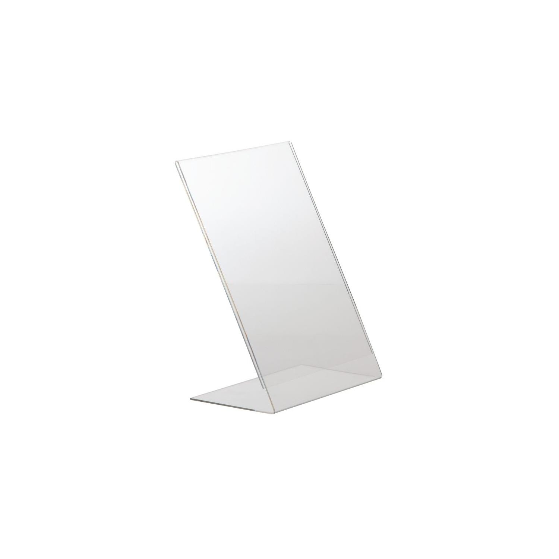 Porte Menus A4 Acrylique avec Appui Vertical EQUIPEMENT DIRECT Cartes et menus