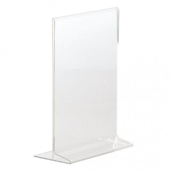 Porte Menus A5 Acrylique Vertical (Portrait) EQUIPEMENT DIRECT Cartes et menus