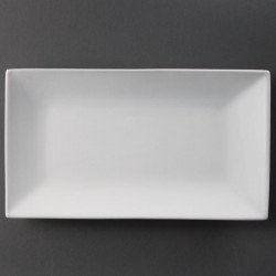 Lot de 2 plats 310 x 180 mm rectangulaire - de service - porcelaine OLYMPIA Assiettes