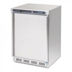 Congélateur 140 Litres inox POLAR Armoires négatives (-18°C-22°C)