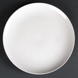 Lot de 4 assiettes creuses rondes Lumina 260(Ø)mm LUMINA FINE CHINA Collection Lumina