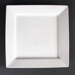Lot de 2 assiettes carrées Lumina 295mm LUMINA FINE CHINA Collection Lumina