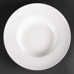Lot de 4 assiettes creuses à soupe ou pâtes Lumina 260(Ø)mm LUMINA FINE CHINA Collection Lumina