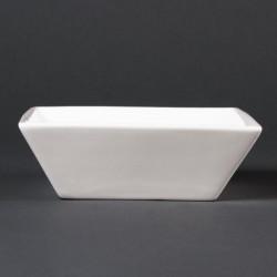 Bol à céréales carré Lumina Fine China - 140mm (Boîte de 6) LUMINA FINE CHINA Bols
